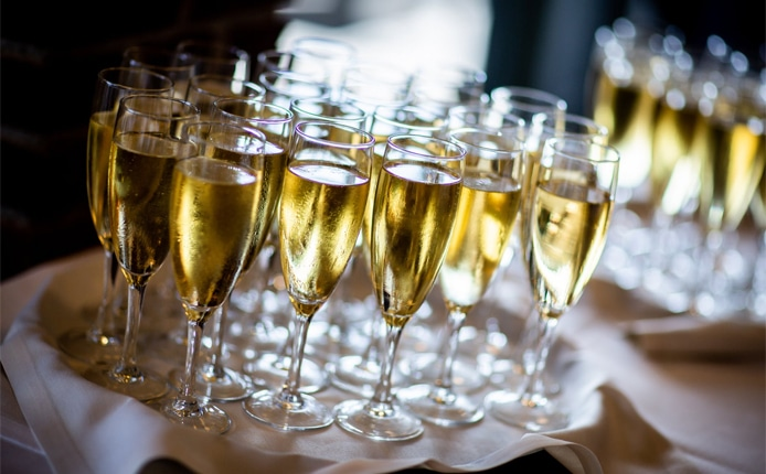 Champagne Flutes gift