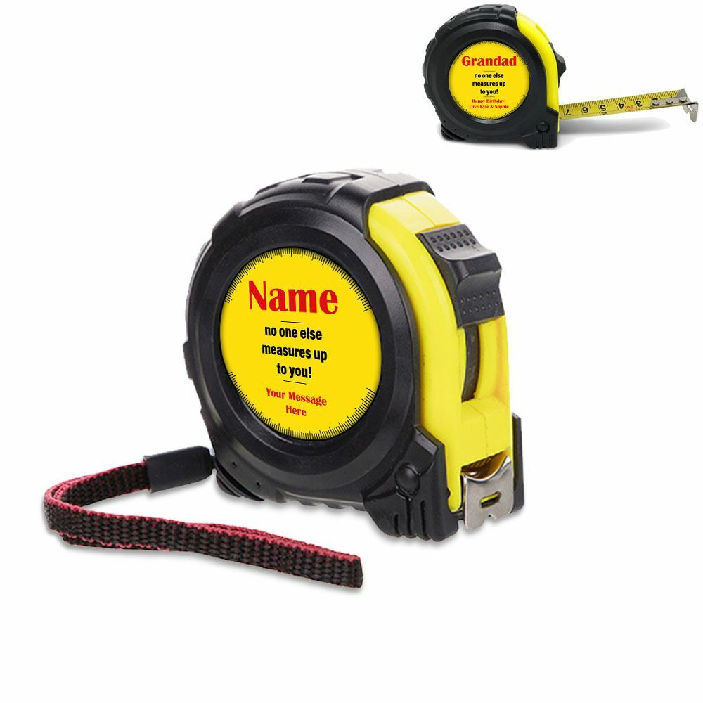 5 Metre Tape Measure with Measures Up Design